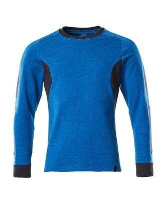 Mascot Sweatshirt Accelerate, Langarm Shirt, azurblau/schwarzblau, Größe XL