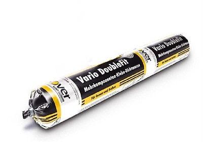 Isover Vario DoubleFit 600 ml im Schlauchbeutel Klebe-Dichtmasse für Innen+Außen