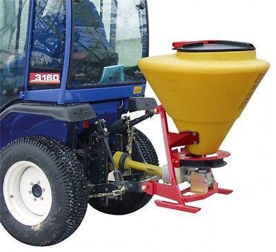 PE-Anbaustreuer Streuwagen 130 Liter für Zapfwelle