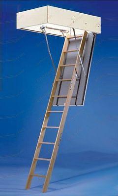 Wellhöfer Bodentreppe Bodenluken-Dachbodentreppe GutHolz 110x60 cm ungedämmt