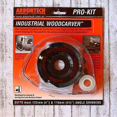 Arbortech Industrial Woodcarver Prokit Frässcheibe mit Schutzhaube IND.FG.200