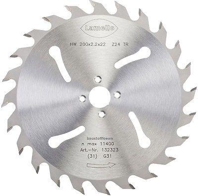 Lamello 132323 Sägeblatt 200 mm für Trennfräse Tanga Delta