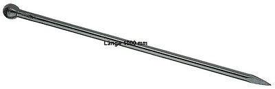 PICARD Pflasterbrechstange Brechstange 46e, Länge 1000 mm, mit Kugelkopf