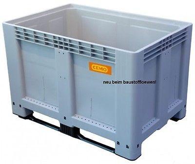 Logistikbox Transportbox Palettenbox 525 Liter o.Deckel