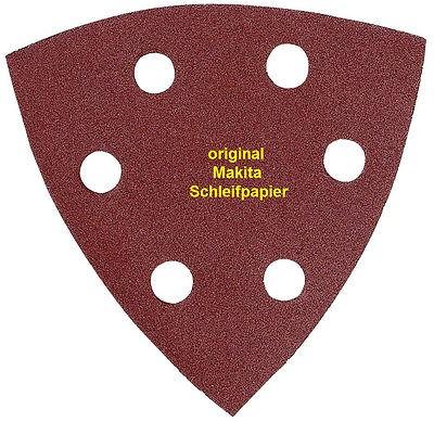 Makita Delta-Schleifpapier 95 mm, K 40, 10 Stück