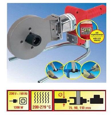 Rothenberger Muffenschweißgerät 1300 Watt, Kunststoffschweißen PP