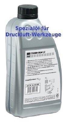 1 Liter Druckluft Werkzeugöl, Nebelöl B770000