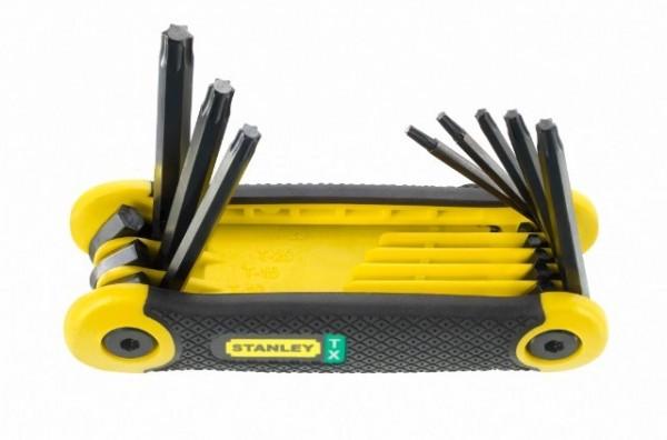 Stanley Torx-Schraubendreher Stiftschlüssel-Knochen 8-teilig, TX9 - TX40, 69-266